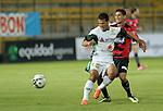 La Equidad derroto 3x1 al deportivo  Cucuta en la liga postobon torneo finalizacion del futbol de colombia