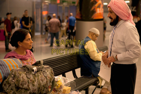 LEARNING TO DRIVE (2014)<br /> Sarita Choudhury and Ben Kingsley <br /> *Filmstill - Editorial Use Only*<br /> CAP/FB<br /> Image supplied by Capital Pictures