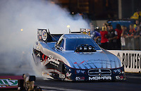 Jun. 29, 2012; Joliet, IL, USA: NHRA funny car driver Jack Beckman during qualifying for the Route 66 Nationals at Route 66 Raceway. Mandatory Credit: Mark J. Rebilas-