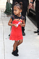 NEW YORK, NY - SEPTEMBER 10:  North West  daughter of Kim Kardashian and Kanye West seen  in New York, New York on September 10, 2016.  Photo Credit: Rainmaker Photo/MediaPunch