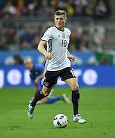 FUSSBALL INTERNATIONAL TESTSPIEL IN DER ALLIANZ ARENA MUENCHEN Deutschland - Italien    29.03.2016  Toni Kroos (Deutschland)
