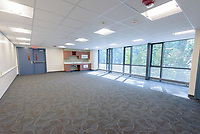 Major Renovation Litchfield Hall WCSU Danbury CT<br /> Connecticut State Project No: CF-RD-275<br /> Architect: OakPark Architects LLC  Contractor: Nosal Builders<br /> James R Anderson Photography New Haven CT photog.com<br /> Date of Photograph: 08 August 2017<br /> Camera View: 28 - Lounge 267