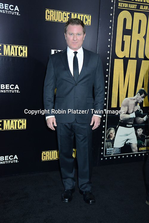 "Todd Truly attends the World Premiere of ""Grudge Match"" at the Ziegfeld Theatre in New Yok City on December 16, 2013."