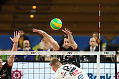 20th March 2018, PalaTrento, Trento, Italy; CEV Volleyball Champions League, playoffs, 1st leg; Trentino Diatec versus Chaumont VB 52 Haute Marne; 10 Nikola Mijailovic SRB