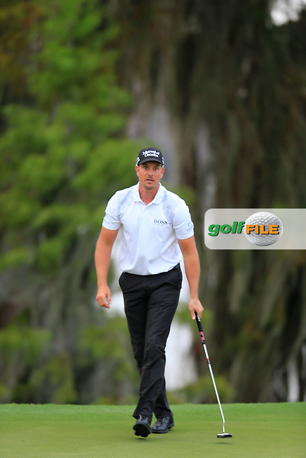 Henrick Stenson (SWE) during round 4 of the Hero World Challenge, Isleworth Golf &amp; Country Club, Windermere, Orlando Florida, USA. 07/12/2014<br /> Picture Fran Caffrey, www.golffile.ie