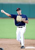 Steve Lombardozzi - Scottsdale Scorpions - 2010 Arizona Fall League.Photo by:  Bill Mitchell/Four Seam Images..