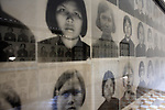 The Khmer Rouge kept an extensive record of the people they interned, tortured and murdered here, including mug shots of arriving prisoners. All these people were killed soon after these photographs were taken. <br /> <br /> On 17th April 1975, after five years of civil war, Cambodia's capital Phnom Penh fell to the Khmer Rouge, who instigated a brutal reign of terror that would see the death of some 1.7 million Cambodians. In an attempt to create a self-sufficient agrarian paradise, cities were emptied, money and religion were banned and roughly a quarter of the population was worked and starved to death or executed. <br /> <br /> At the centre of this brutality was S-21, also known as Tuol Sleng, the Khmer Rouge prison located in the grounds of an old Phnom Penh school. Before the Vietnamese liberation of Phnom Penh on 7th January 1979, at least 14,000 people were tortured and executed here or at the nearby Choeung Ek killing field.