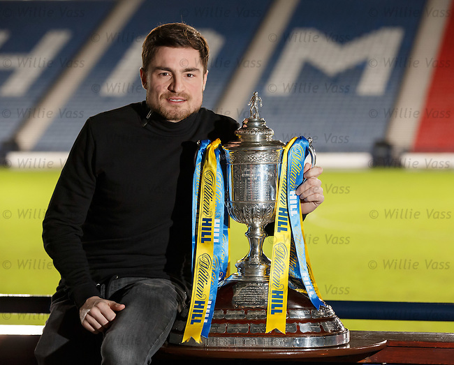 Paul Paton, Dundee Utd with the Scottish Cup