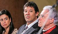 SAO PAULO, SP, 04 FEVEREIRO 2013 - ABERTURA DO ANO JUDICIARIO 2013 - O prefeito Fernando Haddad durante Sessão de Abertura do Ano Judiciário de 2013 no Palácio da Justiça na região central da capital paulista, nesta segunda-feira, 04. (FOTO: VANESSA CARVALHO / BRAZIL PHOTO PRESS).