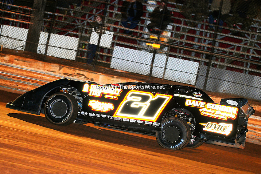 Jan 30, 2010; 7:27:33 PM; Waynesville, GA., USA; The Southern All Stars Racing Series running The Super Bowl of Racing VI at Golden Isles Speedway.  Mandatory Credit: (thesportswire.net)