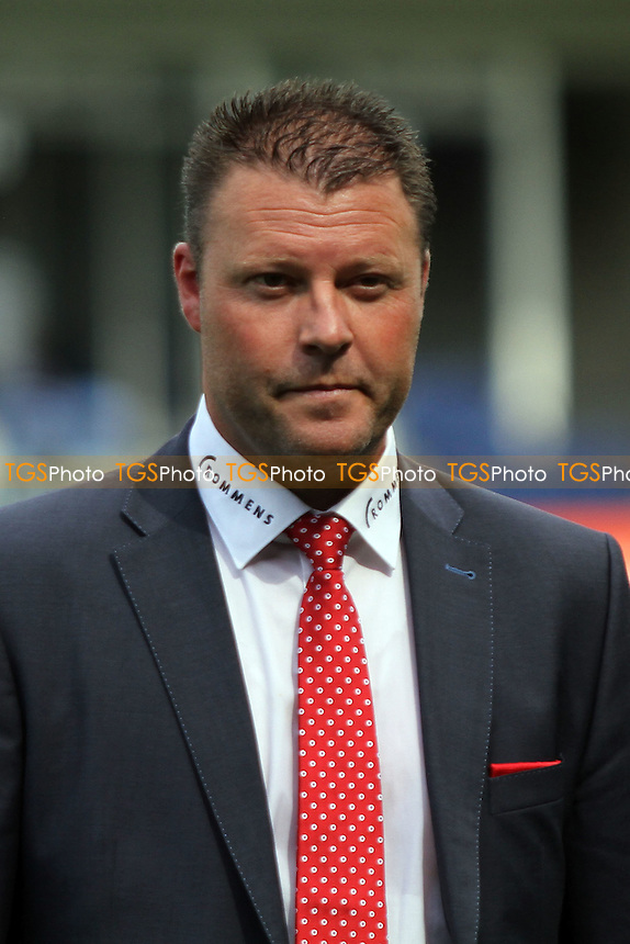 Richard Stricker (Manager, Royal Antwerp) - Luton Town vs Royal Antwerp - Pre-Season Friendly Football Match at Kenilworth Road, Luton, Bedfordshire - 26/07/14 - MANDATORY CREDIT: Mick Kearns/TGSPHOTO - Self billing applies where appropriate - contact@tgsphoto.co.uk - NO UNPAID USE