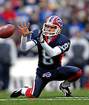 24 December 2006: Buffalo Bills punter Brian Moorman (8) prepares to hold for a field goal against the Tennessee Titans at Ralph Wilson Stadium in Orchard Park, New York. The Titans edged out the Bills 30-29.&amp;#xA; &amp;#xA;Mandatory Photo Credit: Ed Wolfstein Photo<br />