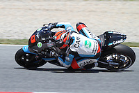 14.06.2013 Barcelona, Spain. Gran Premi Aperol de Catalunya. Free practice 2. Picture show Danilo Petrucci ridding IODA-Suter at Circuit de Catalunya
