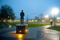 Drill Field at Night (photo by Russ Houston / © Mississippi State University)