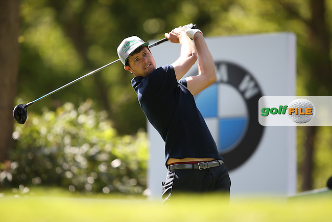 Alex Belt (ENG) during Round One of the 2015 BMW PGA Championship over the West Course at Wentworth, Virginia Water, London. 21/05/2015Picture David Lloyd, www.golffile.ie.