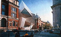 London: Daniel Libeskind's Victoria and Albert Scheme, called The Spiral, was rejected in 2004.