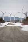 Wind Power Farms in Ontario, Canada.