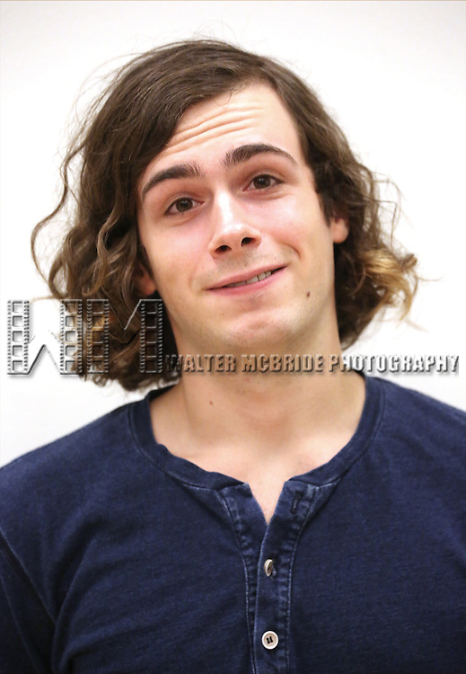 Zane Pais attends the first day rehearsal for the New Group production of 'Mercury Fur' at the New 42nd Street Studios on July 6, 2015 in New York City.