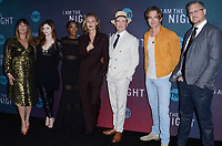 HOLLYWOOD, CA - MAY 9: Patty Jenkins, India Eisley, Golden Brooks, Connie Nielsen, Jefferson Mays, Chris Pine, Sam Sheridan at the &quot;I Am The Night FYC Event at the Television Academy in North Hollywood, California on May 9, 2019.      <br /> CAP/MPI/DE<br /> &copy;DE/MPI/Capital Pictures