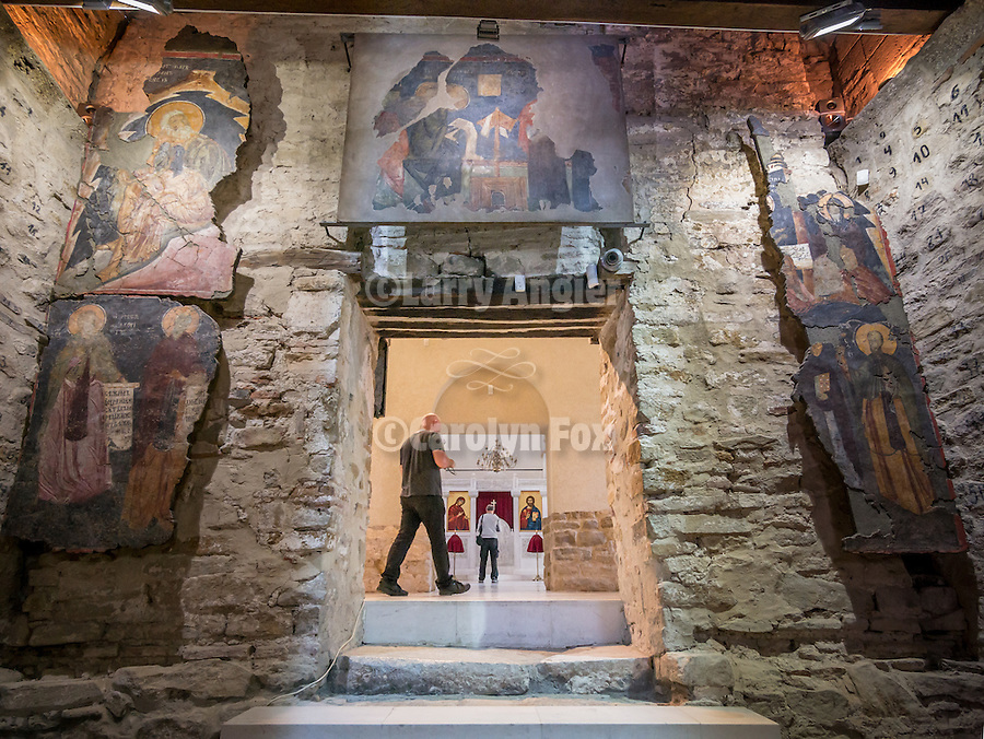 Church of the 40 Martyrs of Sebaste, constructed in 1230 and the place of repose (death) of St. Sava in 1236.<br /> <br /> Veliko Tarnovo, Bulgaria