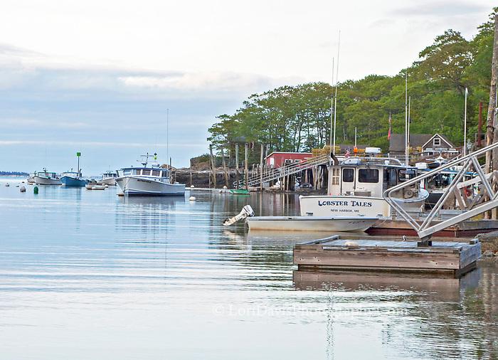 "Boat named ""Lobster Tales"""