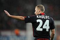 FUSSBALL   CHAMPIONS LEAGUE   SAISON 2011/2012  Bayer 04 Leverkusen - FC Valencia           19.10.2011 Michal KADLEC (Bayer 04 Leverkusen)
