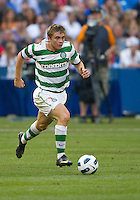July 16, 2010 James Forrest No. 49 of Celtic FC during an international friendly between Manchester United and Celtic FC at the Rogers Centre in Toronto.
