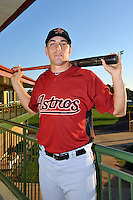 Feb 25, 2010; Kissimmee, FL, USA; The Houston Astros catcher Jason Castro (15) during photoday at Osceola County Stadium. Mandatory Credit: Tomasso De Rosa/ Four Seam Images