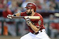 Arizona Diamondbacks outfielder Adam Eaton (6) during a game against the Washington Nationals at Chase Field on September 29, 2013 in Phoenix, Arizona.  Arizona defeated Washington 3-2.  (Mike Janes/Four Seam Images)