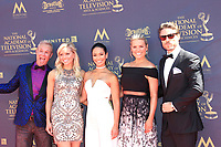 PASADENA - APR 30: Manuela Arbelaez, James O'Halloran, Rachel Reynolds, George Gray, Tiffany Coyne at the 44th Daytime Emmy Awards at the Pasadena Civic Center on April 30, 2017 in Pasadena, California