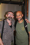 "Guiding Light's Ritchie Coster ""Nate/Alfred"" stars with Keegan-Michael Key in Hamlet on August 13, 2017 at the Public Theatre, New York City, New York. (Photo by Sue Coflin/Max Photos)"