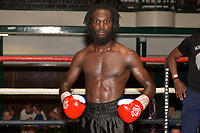 Jeffrey Ofori (black shorts) defeats Luke Fash during a Boxing Show at York Hall on 30th June 2018