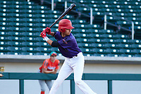 Christian Perez (11) of Pasadena High School in Pasadena, California during the Baseball Factory All-America Pre-Season Tournament, powered by Under Armour, on January 13, 2018 at Sloan Park Complex in Mesa, Arizona.  (Freek Bouw/Four Seam Images)