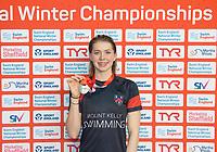 Picture by Allan McKenzie/SWpix.com - 13/12/2017 - Swimming - Swim England Winter Championships - Ponds Forge International Sport Centre - Sheffield, England - Kaylee Dekker.
