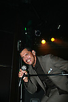 El DeBarge performs at CD Release Show for 'Second Chance' at the Highline Ballroom, New York 11/30/10