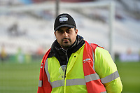 Stewards at the London Stadium during West Ham United vs Burnley, Premier League Football at The London Stadium on 3rd November 2018