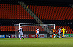 Barnet 2 Morecambe 0, 16/12/2017. The Hive, League Two. Callum Lang of Morecambe holds his head as Morecombe hit the Barnet bar. Photo by Paul Thompson.