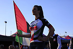 UAE Emirates at the Team Presentation in Alghero, Sardinia for the 100th edition of the Giro d'Italia 2017, Sardinia, Italy. 4th May 2017.<br /> Picture: Eoin Clarke | Cyclefile<br /> <br /> <br /> All photos usage must carry mandatory copyright credit (&copy; Cyclefile | Eoin Clarke)