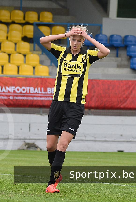 Bekerfinale vrouwen 2015 : Lierse-Club Brugge Vrouwen :<br /> <br /> Justine Vanhaevermaet<br /> <br /> foto VDB / BART VANDENBROUCKE