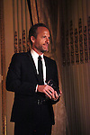 John Benjamin Hickey attends the American Theatre Wing's annual gala at the Plaza Hotel on Monday Sept. 24, 2012 in New York.