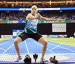 14.02.2020, Mercedes Benz Arena, Berlin, GER, ISTAF-Indoor 2020 Berlin, im Bild <br /> Discus  Women<br /> Nadine Mueller (GER), <br /> <br />      <br /> Foto © nordphoto / Engler