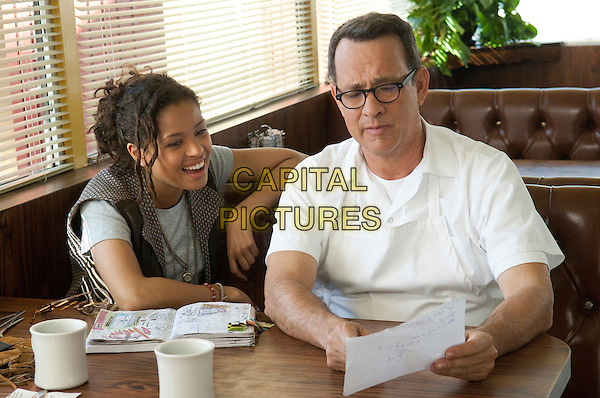 GUGU MBATHA-RAW & TOM HANKS.in Larry Crowne .*Filmstill - Editorial Use Only*.CAP/FB.Supplied by Capital Pictures.