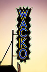 Wacko sign on Melrose Ave. in the 1980s