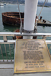 USS Arizona Dedication Plaque, Pearl Harbor