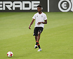 Germany's Gideon Jung in action during training at the Stadion Cracovia in Krakow. Picture date 29th June 2017. Picture credit should read: David Klein/Sportimage