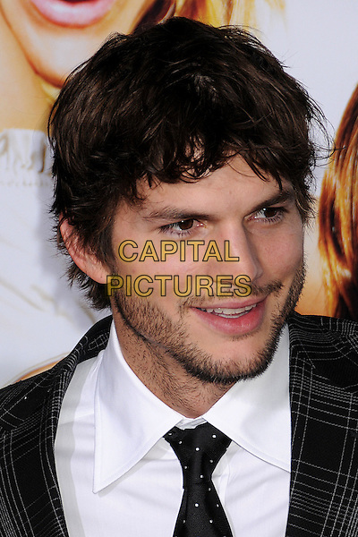 "ASHTON KUTCHER.""What Happens in Vegas"" Los Angeles Premiere at Mann's Village Theatre, Westwood, California, USA..May 1st, 2008.headshot portrait stubble facial hair .CAP/ADM/BP.©Byron Purvis/AdMedia/Capital Pictures."