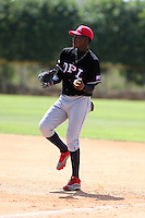 Bryan Pena participates in the Dominican Prospect League 2014 Louisville Slugger Tournament at the New York Yankees academy in Boca Chica, Dominican Republic on January 20-21, 2014 (Bill Mitchell)