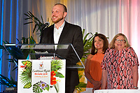 Dr. Tanner Wright, the very first guest 30 years ago at the Ronald McDonald House Jacksonville, speaks during the annual McGala fundraiser Saturday, May 19, 2018 at the Marriott Sawgrass in Ponte Vedra Beach, Fl.