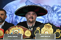 Andy Ruiz Jr during a Press Conference at Hilton London Syon Park on 6th September 2019