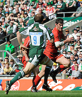 Twickenham, GREAT BRITAIN, Toulouses' Fabien PELOUS, running with the ball, during the Heineken, Semi Final, Cup Rugby Match,  London Irish vs Toulouse, at the Twickenham Stadium on Sat 26.04.2008 [Photo, Peter Spurrier/Intersport-images]